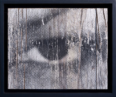 JR, 'Inside Out, Oeil Trame #14', 2012