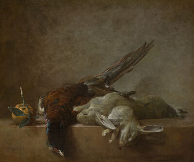 Jean-Siméon Chardin, 'Still Life with Game', Probably 1750s