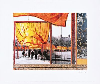 Christo, 'The Gates, Project For Central Park (Hand signed)', 2004