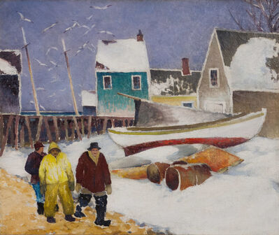 Tod Lindenmuth, 'Along the Shore'