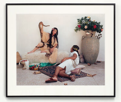 """Eleanor Antin, 'The Conversation from """"The Last Days of Pompeii""""', 2002"""