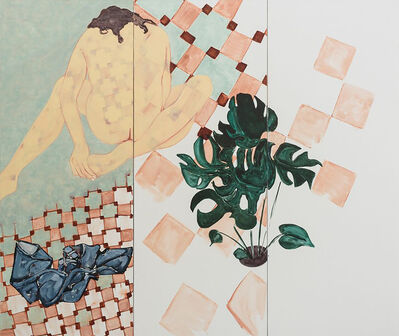 Sara Berman, 'Cheese Plant Lovers', 2016