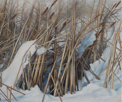 Stephanie Bush, 'Winter (Reeds)'