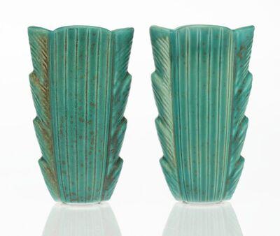Gunnar Nylund, 'Pair of Vases', circa 1940