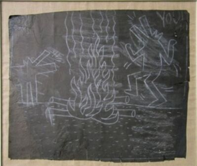 Keith Haring, 'Untitled (Dancing Dogs Around the Fire)', 1982