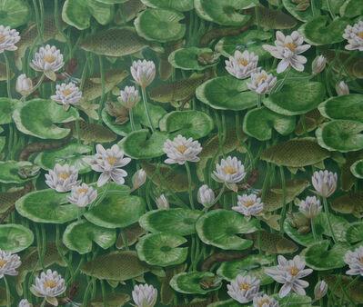 Alain Vaes, 'Water Lilies and Carp'