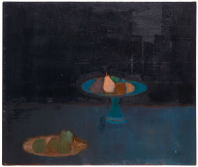 Bernard Myers, 'Still life with fruit', Painted in the 1960s.
