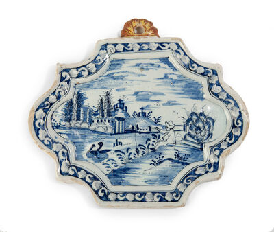 Delftware, 'Delftware plaque', Second half of the 18th century