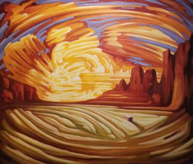 Jono Tew, 'Valley Sunset'