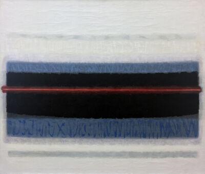 Lawrence Calcagno, 'Red Line Horizon', 1966