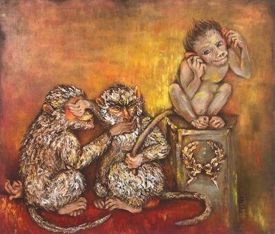 Rita Kashap, 'Die drei Affen', 2012