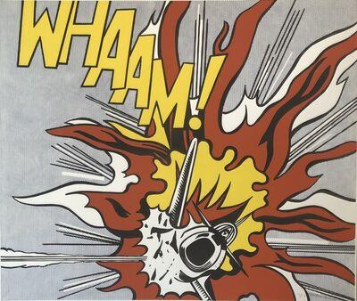 Roy Lichtenstein, 'Whaam!', 1988