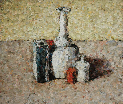 Vik Muniz, 'Still Life after Morandi from Pictures of Magazines', 2004