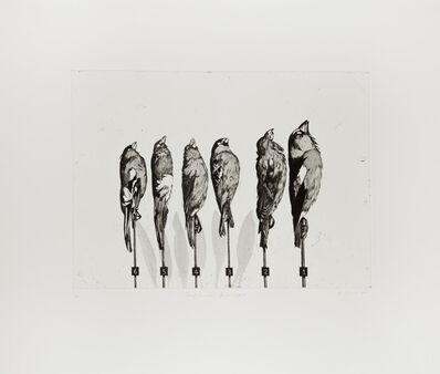 Ken Currie, 'Dead Finches, Kelvingrove', 2015