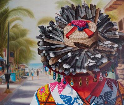 Sergio Gomez, 'Huichol en Sayulita', 2018