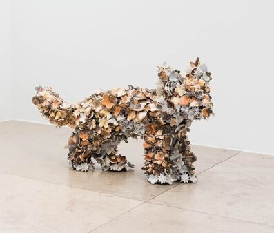Barnaby Barford, 'Sculpture 'Tottenham Fox Cub 04'', 2015
