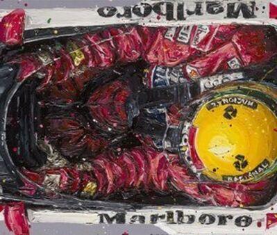 Paul Oz, 'Bird's-eye View Senna'