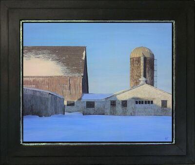Jeff Gola, 'Snowbound Yard, Kirby Farm', 2018