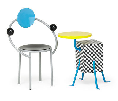 Michele de Lucchi, 'First chair and Kristall side table', 1980s