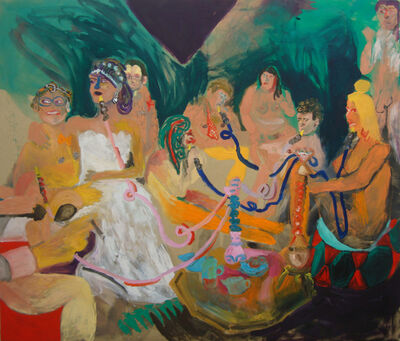 Tanja Ritterbex, 'Bitches get nasty on the hookah ', 2015