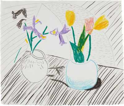 David Hockney, 'White Porcelain, from Moving Focus series', 1985-86
