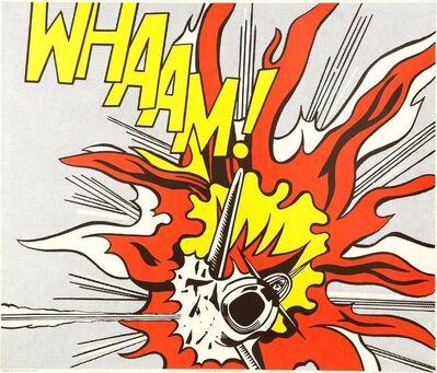 """Roy Lichtenstein, 'The Complete Diptych """"Whaam!"""" after Roy Lichtenstein', 1968"""