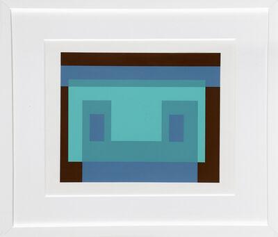 Josef Albers, 'Portfolio 2, Folder 9, Image 1 from Formulation: Articulation', 1972