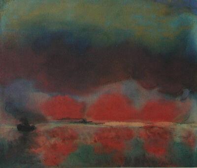 Emil Nolde, 'Dampfer auf hoher See ', ca. 1940