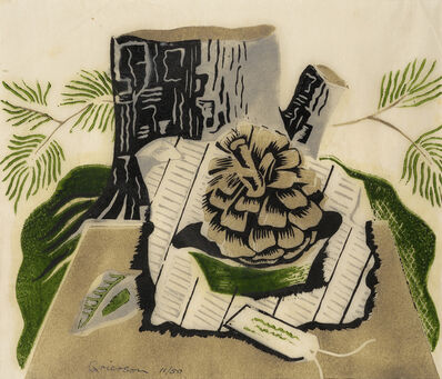 Ronald Grierson, 'Still Life with Fir Cone', 1932
