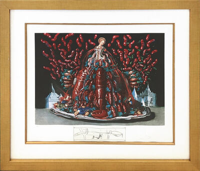 Salvador Dalí, 'LES CANIBALISMES DE L'AUTOMNE', 1971