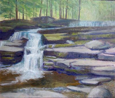 Margaret Leveson, 'Hidden Waters Falls', 2017