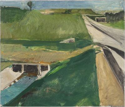 Richard Diebenkorn, 'Freeway and Aqueduct', 1957