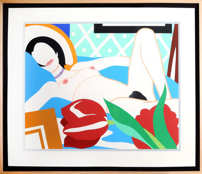 Tom Wesselmann, 'Monica Nude with Tulips', 1989