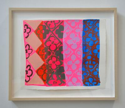 Judy Ledgerwood, 'Study for Lakeshore Skyline', 2006