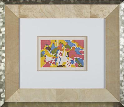 Wassily Kandinsky, 'Orientalisches From Klange Cat. Ref. Rothel 106', 2004