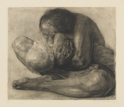Käthe Kollwitz, 'Woman with Dead Child', 1903