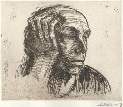 Käthe Kollwitz, 'Selbstbildnis (Self Portrait)', 1921