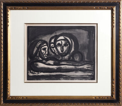 Georges Rouault, 'Au Presser Le Raisin Fut Foule' (In the Winepress the Grapes were Crushed )', 1922