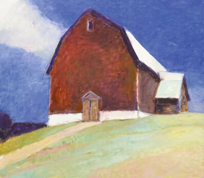 Wolf Kahn, 'Gambrel Barn', 2003