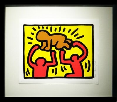 Keith Haring, 'Pop Shop IV-D ', 1989