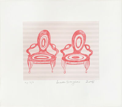 Louise Bourgeois, 'Twosome', 2005