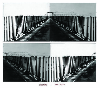 Vera Chaves Barcellos, 'One Way Two Ways', 1977