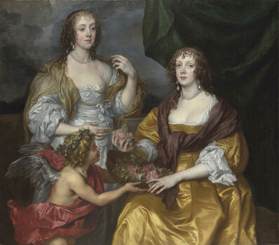 Anthony van Dyck, 'Lady Elizabeth Thimbelby and Dorothy, Viscountess Andover', about 1637