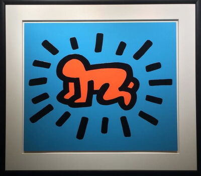 Keith Haring, 'Icons (Radiant Baby)', 1990