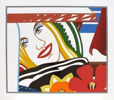 Tom Wesselmann, 'Bedroom Face #41', 1990