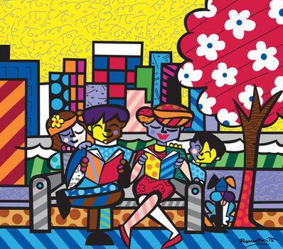 Romero Britto, 'Family Tree'