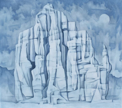 Jono Tew, 'Moon Temple'
