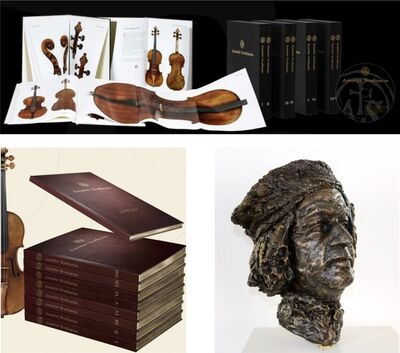 Antonio Stradivari, 'Antonius Stradiuarius, Vol. I - VIII', 2016