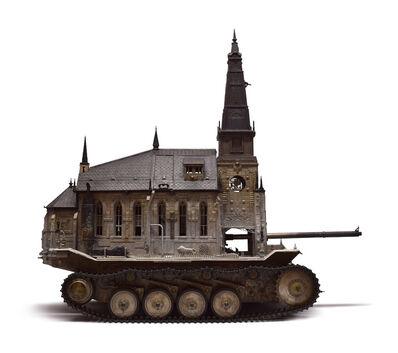 Kris Kuksi, 'Churchtank Type 15', 2019