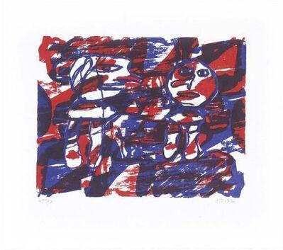 Jean Dubuffet, 'Bonne Annee', 1982